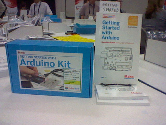 The Arduino Kit and book I bought at OSCon